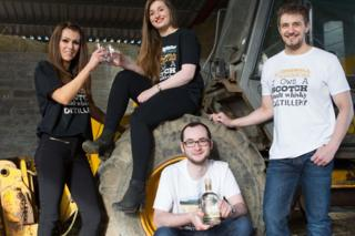 GlenWyvis whisky project