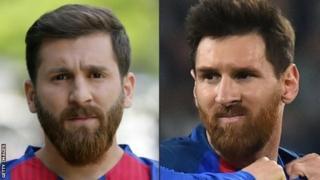 Bidix Reza Parastesh. Midig Lionel Messi. Mise waa taas lidigeeda? bal adba go'aanso