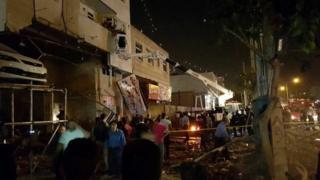محل حادثه در شیراز