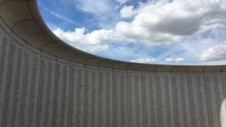 Army flying memorial