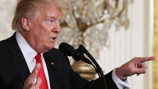 Trump at press conference