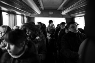 илья в автобусе