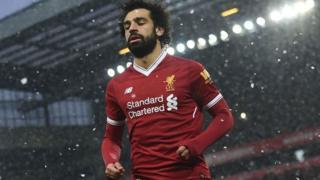 Mshambuliaji wa Liverpool Mohamed Salah