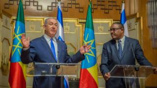Benjamin Netanyahu and Hailemariam Desalegn