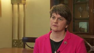 Arlene Foster has been a minister since 2007