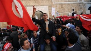 Protests in Tunisia in 2011