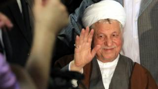 Ali Akbar Hashemi Rafsanjani, 2013