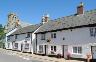 Houses in Beer, Devon