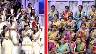 Combined screen grabs of Vijaya TV's youtube channel