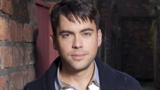 Bruno Langley on Coronation Street