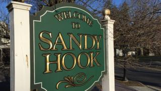 Sign at entrance to Sandy Hook