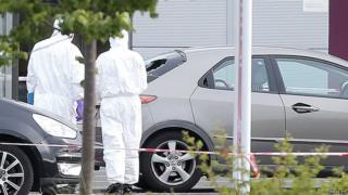 Bangor car park shooting