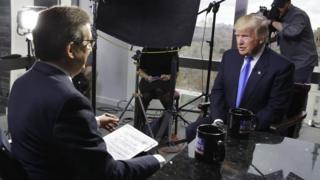 ترامب في مقابلة متلفزة مع فوكس نيوز