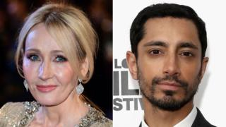 JK Rowling and Riz Ahmed