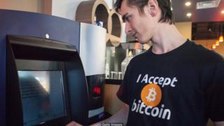 캐나다 밴쿠버에 설치된 비트코인 ATM기