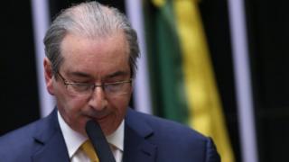 Tsohon shugaban majalisar wakilan Brazil Eduardo Cunha
