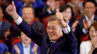Moon Jae-in, Korea Selatan,