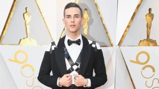 Adam Rippon Oscars