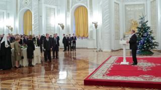 Прием в Кремле