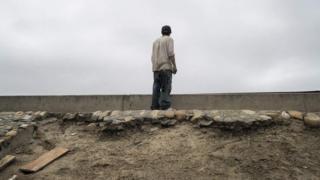 Ruta a la frontera entre México y EE.UU.