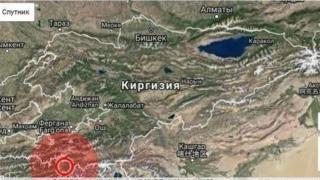 Жер титирөө кыргыз-тажик чек арасындагы Чоң-Алай аймагында да катуу байкалаган