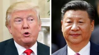 Shugaba Donald Trump da shugaba Xi Jinping