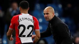 Guardiola approaches Redmond