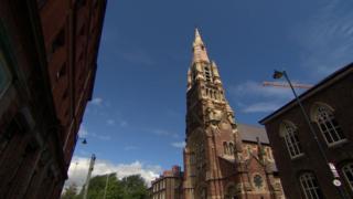 St Patrick's Church in Belfast