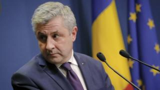 Romanian Justice Minister Florin Iordache. Photo: 9 February 2017