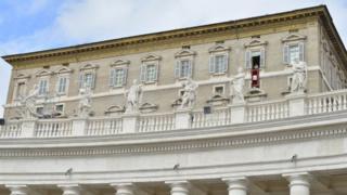 Les appartements du Vatican à la place Saint-Pierre à Rome (illustration)