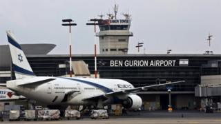 Ben Gurion airport (file photo)