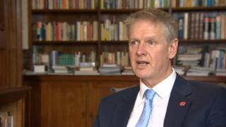 Cardiff University vice-chancellor Colin Riordan