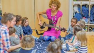 New York'taki Montessori anaokulu