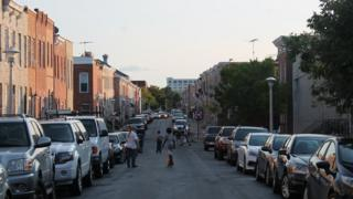 Street view, Baltimore
