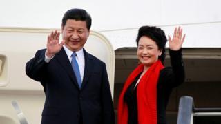Bwana Xi Jinping n'umutambukanyi wiwe Peng