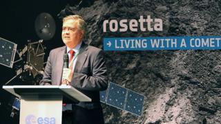 La mission Rosetta a été approuvée en 1993 par l'Agence spatiale européenne (ESA).