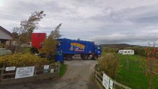 Cae'r Mynydd caravan park