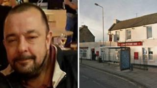 Mark Squires was found on a path next to the Longstone Inn