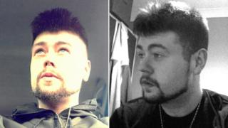 Two photos of Nick Rogers.