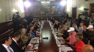 Reunión hoy en Miraflores de la Comisión para la Constituyente.