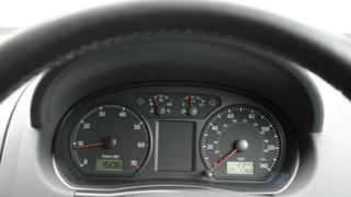 A car dashboard