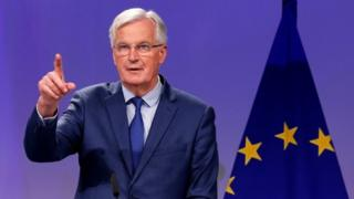 European Union's chief Brexit negotiator Michel Barnier