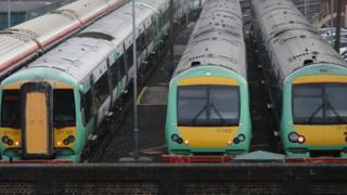 southern Rail trains