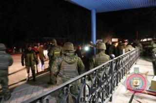Нацполіція опублікувала фото із блокпосту на в'їзді в Слов'янськ