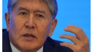 Kırgızistan Cumhurbaşkanı Almazbek Atambayev
