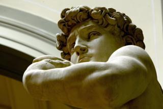 Head of David by Michelangelo