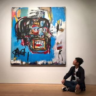 Mchoro wa msanii Jean Michel Basquiat umeauzwa katika mnada mjini New York kwa takriban dola milioni 110.5.