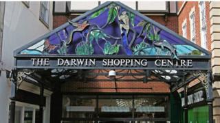 The Darwin Shopping centre