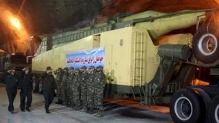 An underground Iranian missile base, Nov 2015