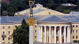 Октябрьский дворец на Институтской в Киеве